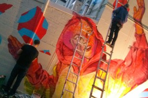 Live Art at Beams Festival, Chippendale, Sydney