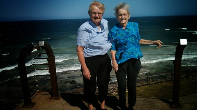 Pat and Nancy at Ballina