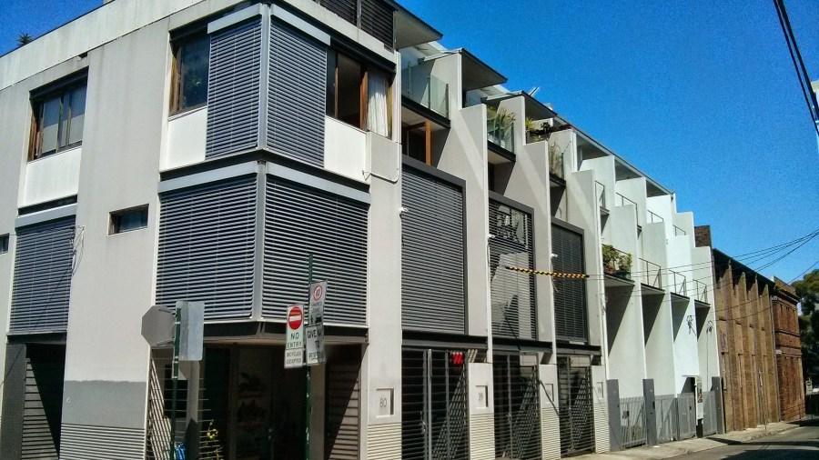 Architecture Association tour of Redfern