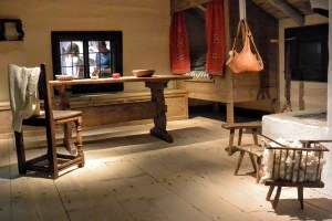 Traditional house at the Nordiska Museet, Stockholm