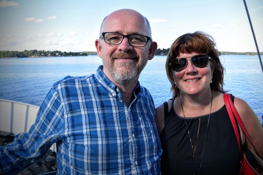 James and Sandra