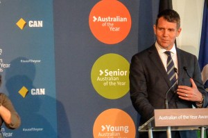 NSW Premier, Mike Baird