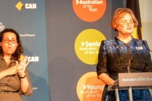Senior Australian Of The Year 2015, Jackie French