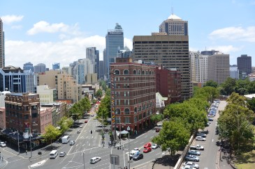 George Street, viewed from Adina Apartments