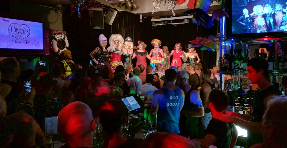 Sunday night at Stonewall