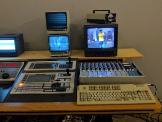 TV Studio, part of an exhibition at Magasin III in Stockholm