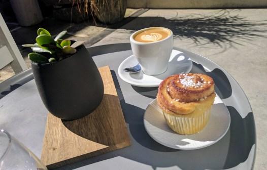 Kanelbullar at Koket Cafe in Paddington, Sydney