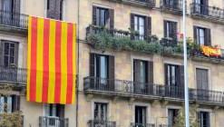 Catalan flag on Spanish National Day