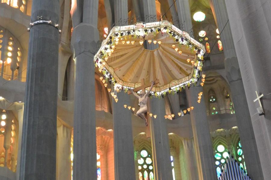 Jesus at The Basílica i Temple Expiatori de la Sagrada Família