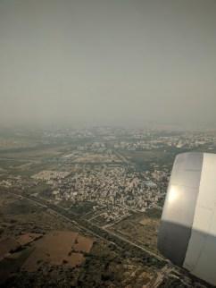 India Plane View