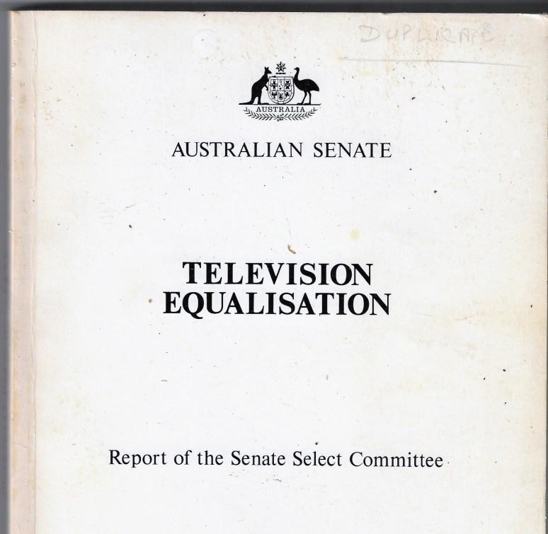 TV Equalisation