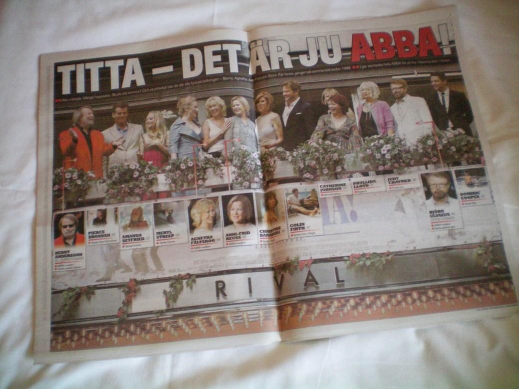 ABBA Reunion 2008