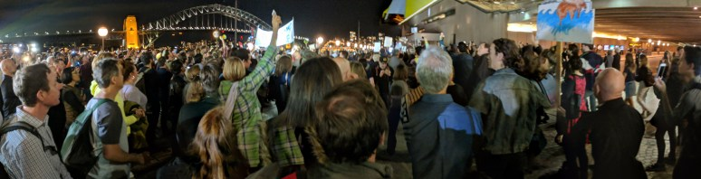 Opera House Protest
