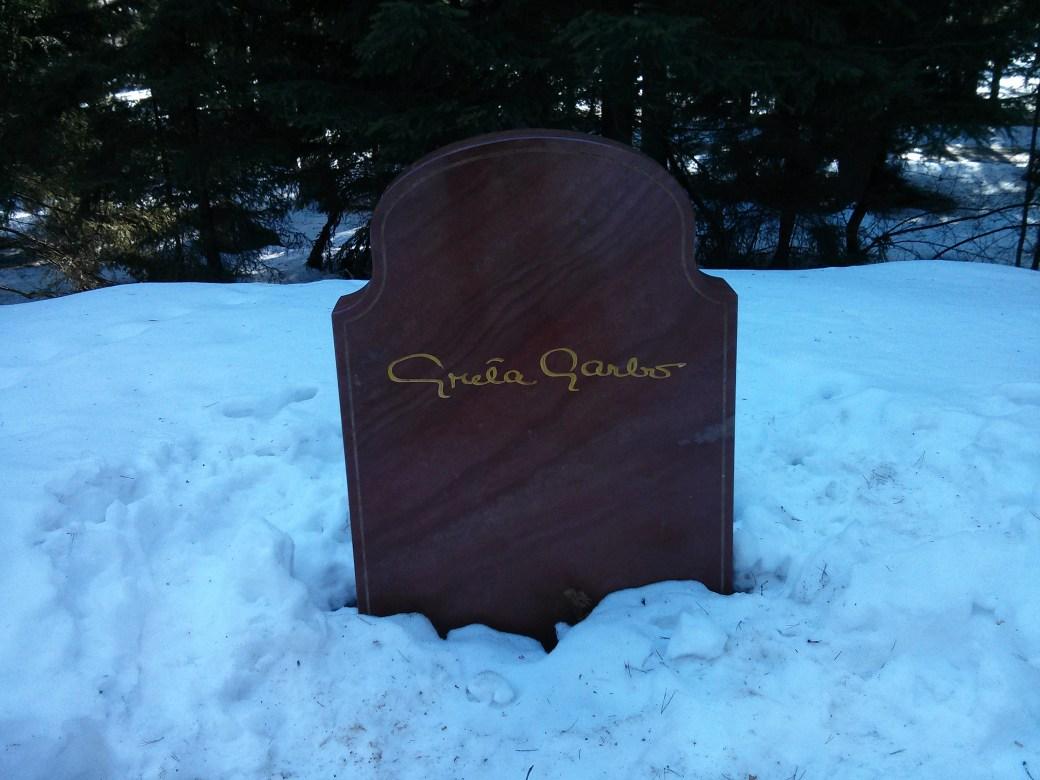 Garbo Grave in Stockholm