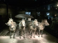 Bronze Chariot Statue uncovered at site of Terracotta Army