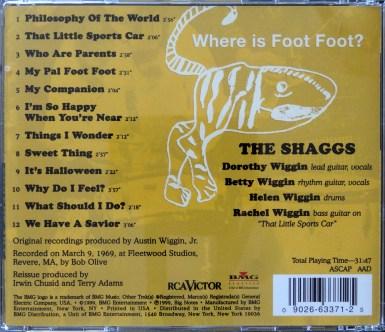 Shagg Philosophy CD back