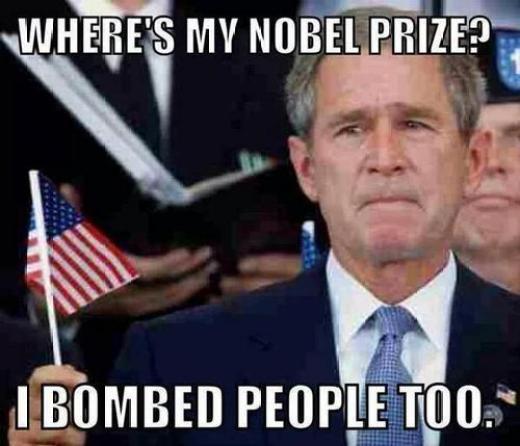 Bush Nobel Prize