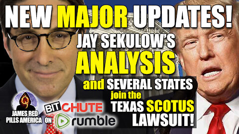 MAJOR Updates to Texas SCOTUS Suit Against 4 States, Several States Join, Trump May Join Lawsuit!