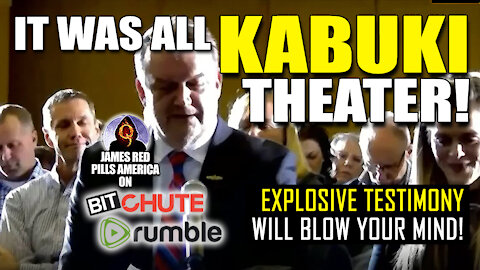 """MORE NEW DAMNING TESTIMONY?! """"It Was ALL #KabukiTheater!"""" This Insider Will BLOW Your MIND! BOOOM!"""