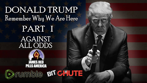 [Part 1] REMEMBER WHY WE ARE HERE! Pro-Trump Video Series: President Donald Trump - AGAINST ALL ODDS