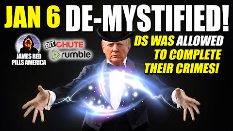 JAN 6 DE-MYSTIFIED! POTUS & Sec Of Def Is Playing The [DS] - Allowed Them To Complete Their Crimes!