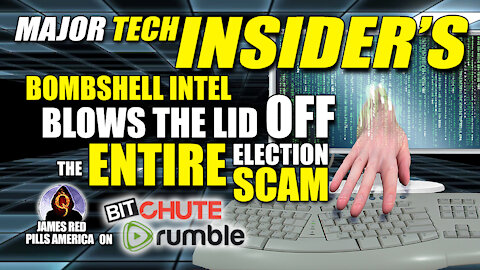 Tech Giant Insider's BOMBSHELL INTEL Blows The Lid Off The Democrats' Election Fraud Scam!