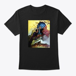 Trump At War Merchandise Black T-Shirt Front