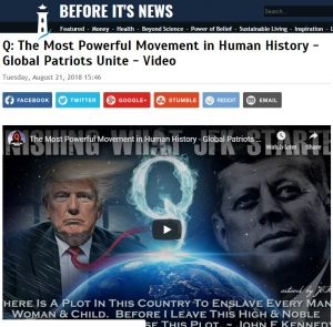 Profile image4691By John Rolls (Reporter)Contributor profile   More storiesStory ViewsNow:1Last Hour:1Last 24 Hours:2Total:808Q: The Most Powerful Movement in Human History - Global Patriots Unite