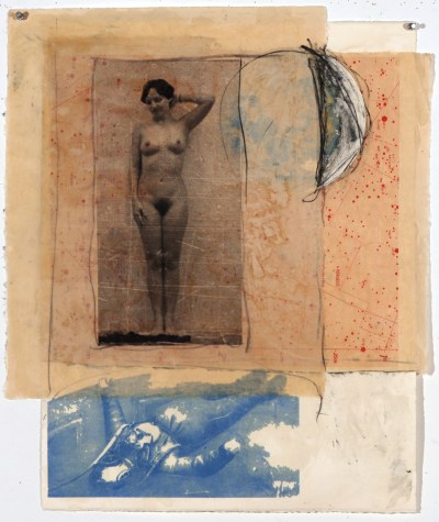 Untitled (Woman, Diver, Moon)