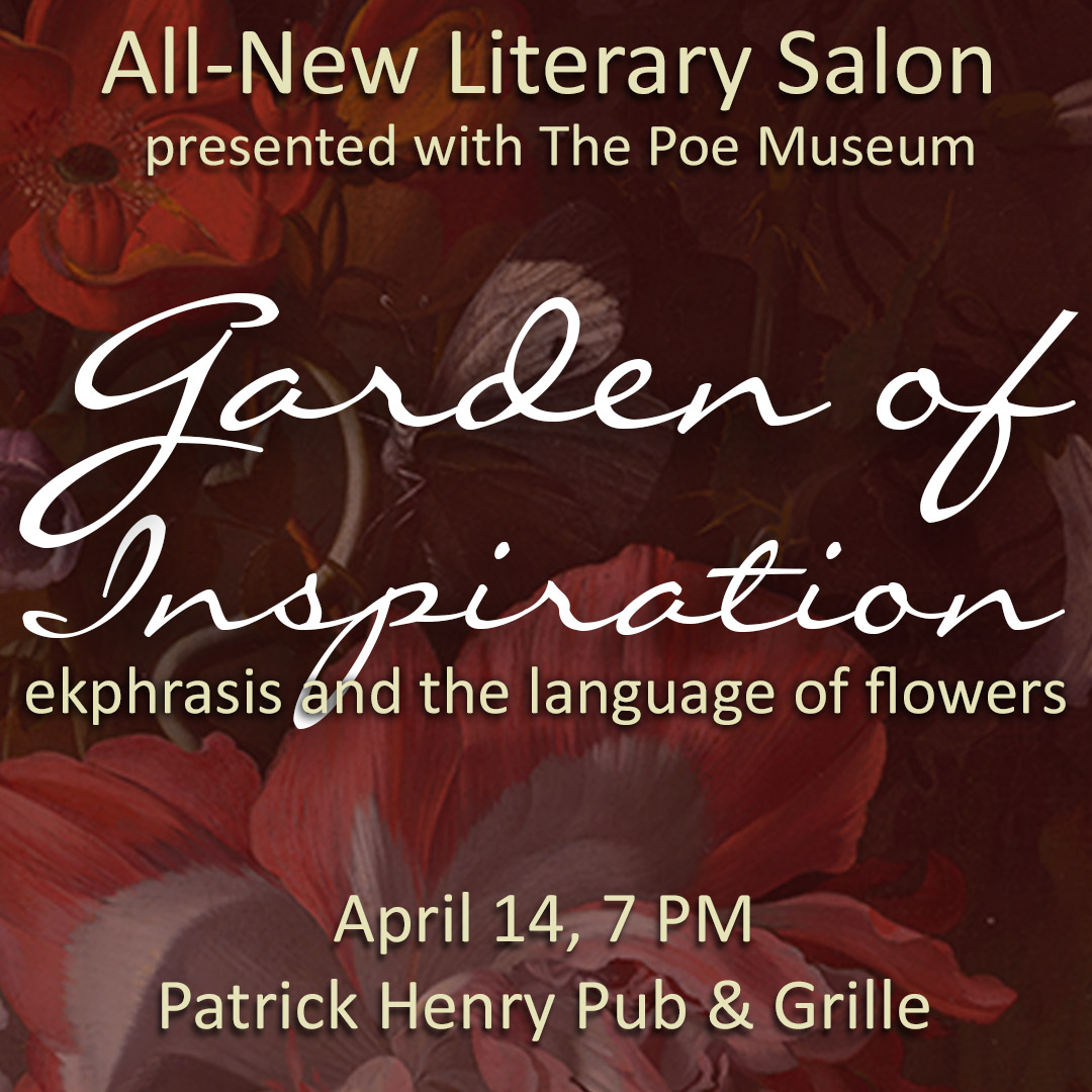 April Literary Salon Garden Of Inspiration