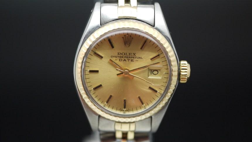Ladies Rolex Oyster Perpetual Date Ref 6917