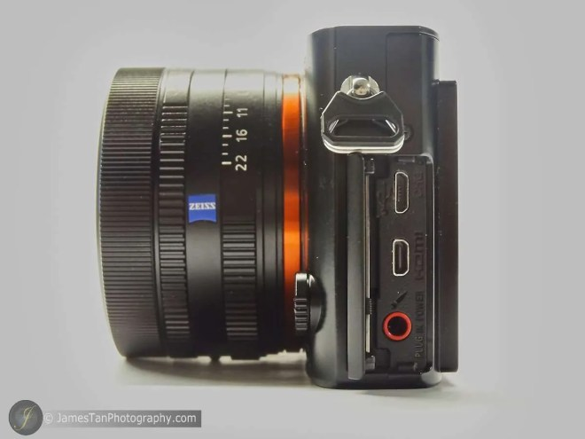 The Ports on Sony RX1R