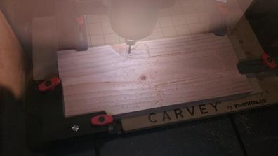 The Carvey working hard!