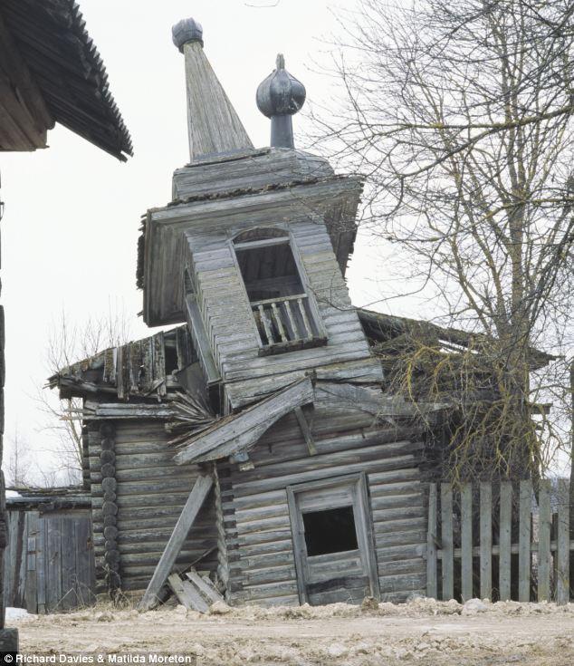 broken church building