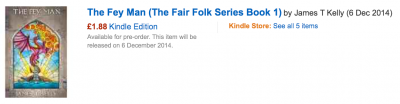 You can preorder The Fey Man from Amazon now