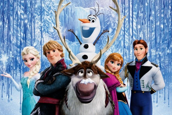 Disney's Frozen is overhyped, but still pretty good.