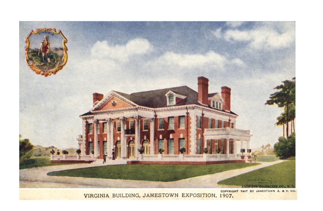 06PCJamestown Exposition00041 - Virginia bldg copy