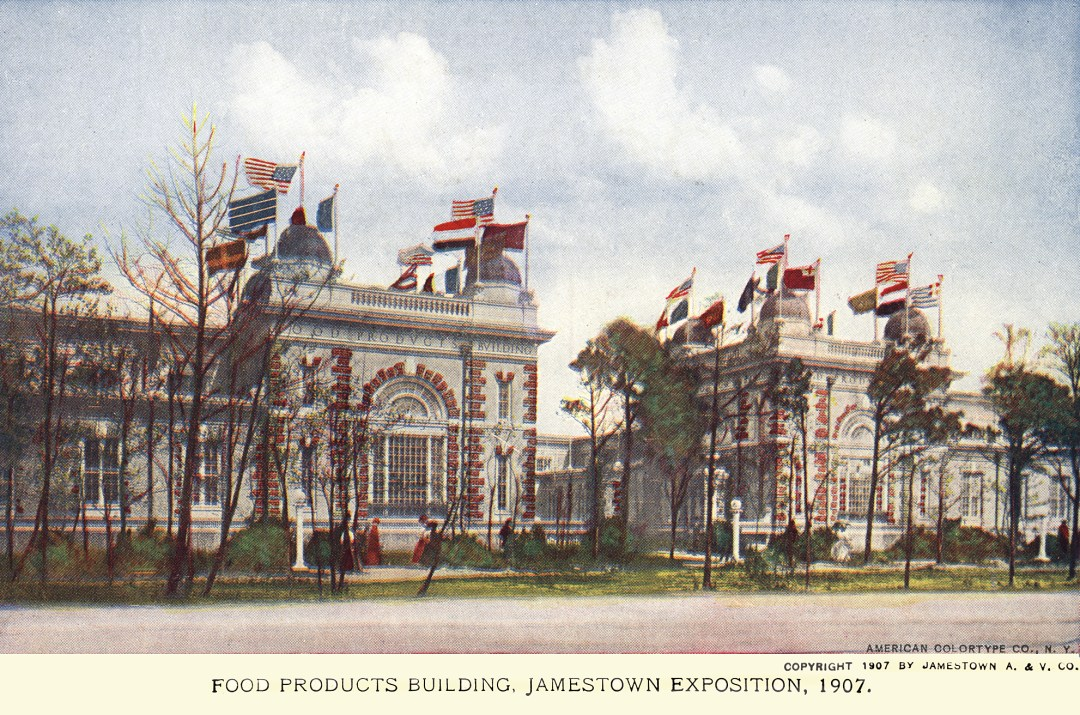 06PCJamestown Exposition00048 - Food Products Bldg copy