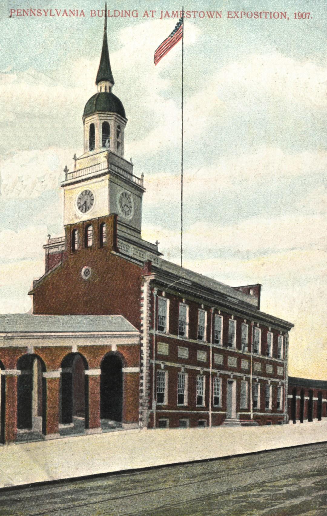06PCJamestown Exposition00184 - Pennsylvania State bldg copy