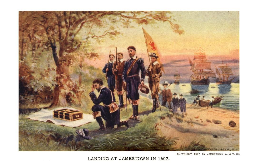 06PCJamestown Exposition00221 - Landing at Jamestown copy