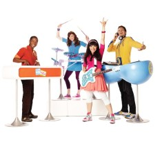 The Fresh Beat Band. The Fresh Beats are Shout, Twist, Marina, and Kiki, four best friends who attend music school together and love to sing and dance.