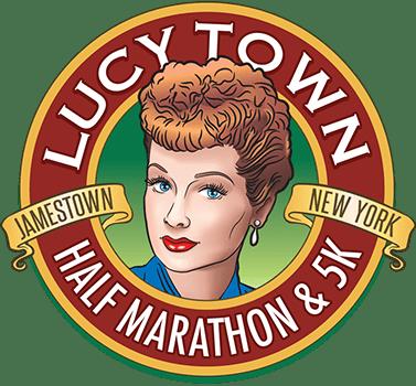 Lucy Town Half Marathon & 5K Logo