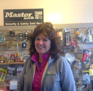 Nancy Stang, Locksmith and Owner, Austin Works.