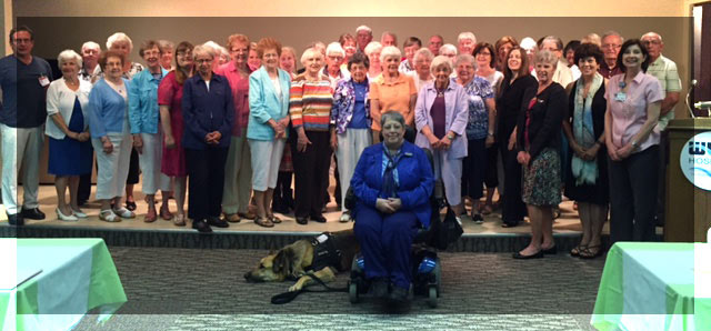 WCA Hospital honored volunteers gather for a picture during the 2016 WCA Hospital Volunteer Recognition and Awards Luncheon, held on Thursday, June 30 in the hospital auditorium.