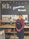 MaryBeth Meredith opened a DIY studio for painting classes on S. Maple Street in Ashville