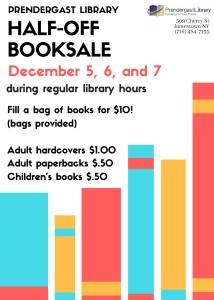 Half Off Book Sale