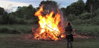 While COVID-19 restrictions mean visitors cannot come to a bonfire on the grounds, Audubon Community Nature Center is offering two other ways to celebrate the Summer Solstice on Saturday, June 20.