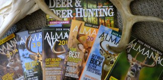 The Deer Hunter's Almanac has tons of information about whitetails in North America, on newsstands by the end of the summer.