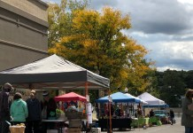 The last day of the Jamestown Public Market will be Saturday, October 31 from 10-2 pm.