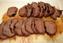 Try cooking an entire backstrap on the grill. Marinate overnight, cook to 145 degrees, wrap in foil for five minutes, and slice thin. Delicious.